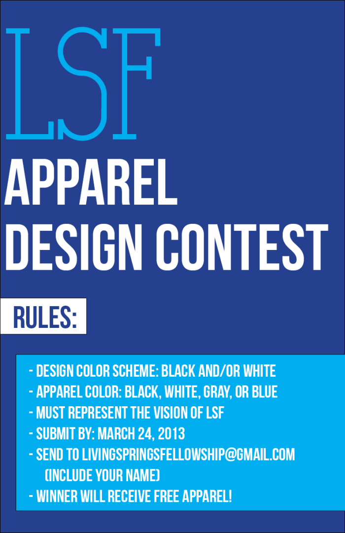 LSF Apparel Design Contest